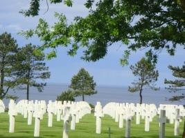 Cemetery Blue Skies