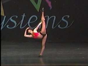(My solo, Hot Note, at the 2004 Star Systems Dance Competition)
