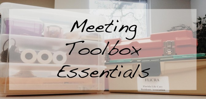 Meeting Toolbox Essentials