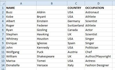 Excel #4b