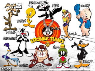 Looney Tunes Clip Art from Word