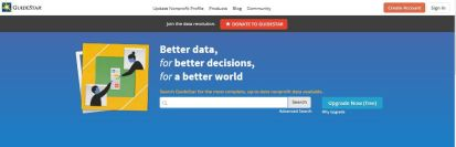 Guidestar Website