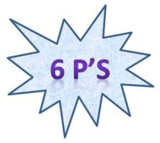 6 Ps Graphic